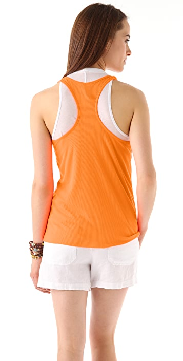 Rachel Pally Ribbed Racer Back Tank