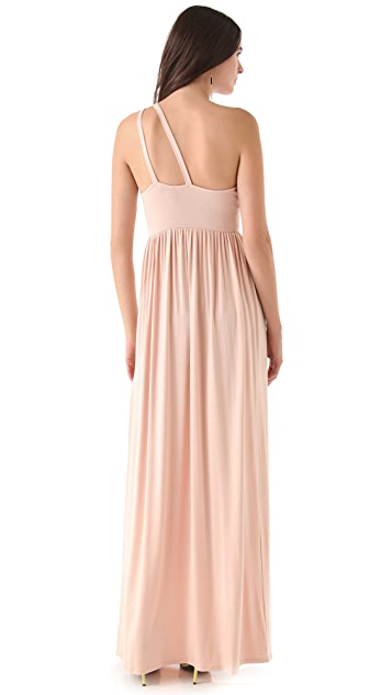 Rachel Pally Yuki One Shoulder Maxi Dress
