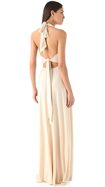 Rachel Pally Kyrie Deep V Maxi Dress
