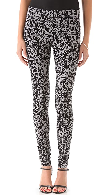 Rachel Pally Super Long Print Leggings