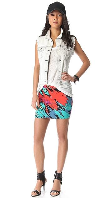 Rachel Pally Bandage Miniskirt