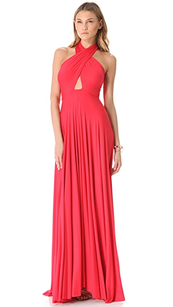 Rachel Pally Long Full Tie Tube Dress