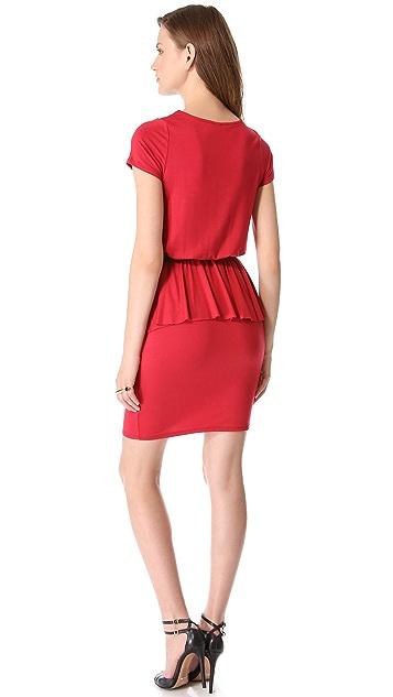 Rachel Pally Abella Peplum Dress