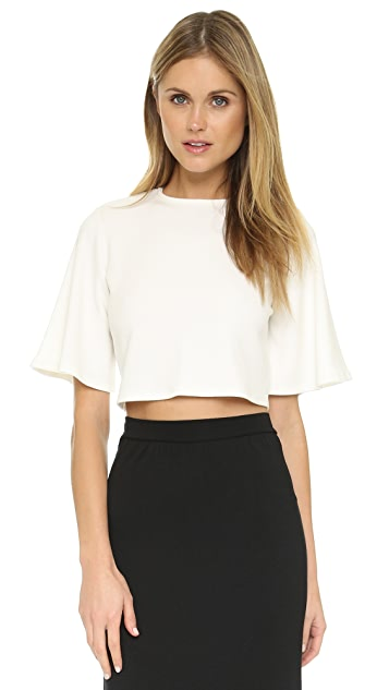 Rachel Pally Thick Rib Adelisa Crop Top