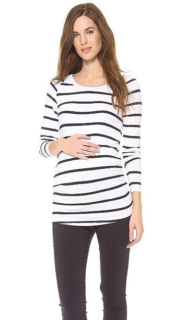 Rosie Pope Long Sleeve Sylvie Maternity Top