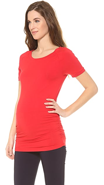 Rosie Pope Short Sleeve Sylvie Maternity Top