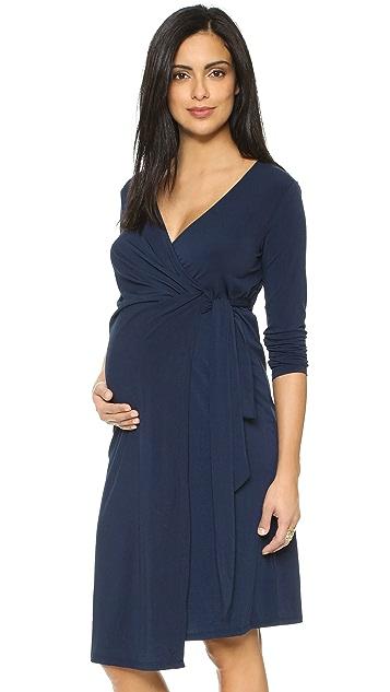 5eea951bedf Rosie Pope Maternity Wrap Dress ...