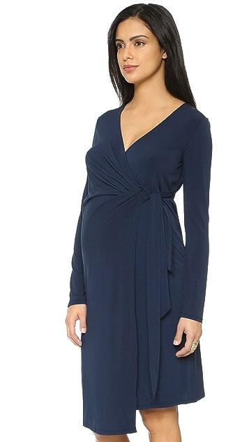 Rosie Pope Maternity Wrap Dress