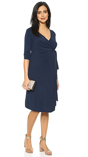 Rosie Pope Maternity Wrap Dress