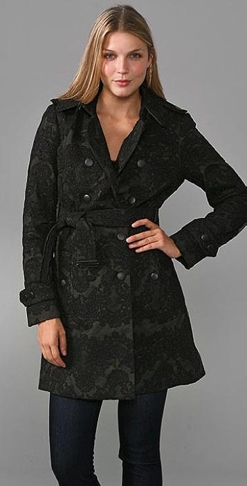 Robert Rodriguez Lace Coat