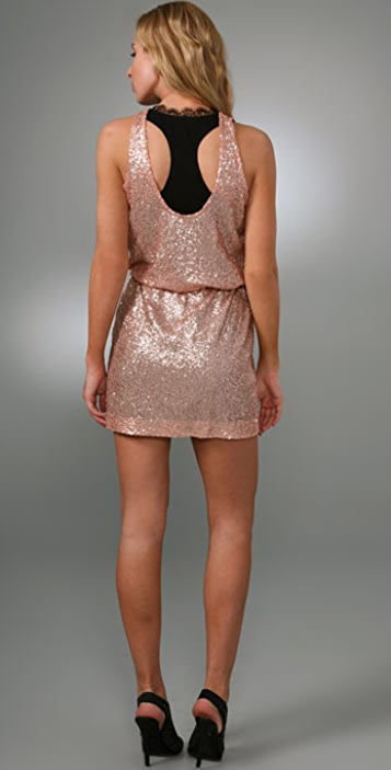 Robert Rodriguez Sequin Tank Dress