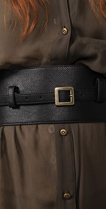 Robert Rodriguez Perforated Wrap Belt