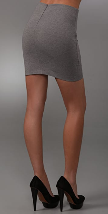 Robert Rodriguez Twisted Ponte Skirt