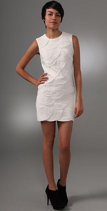 Robert Rodriguez Scalloped Dress