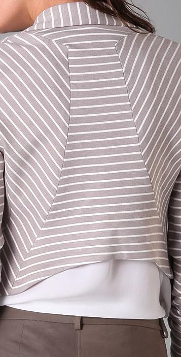 Robert Rodriguez Striped Blazer