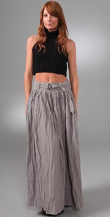 Robert Rodriguez Long Full Skirt