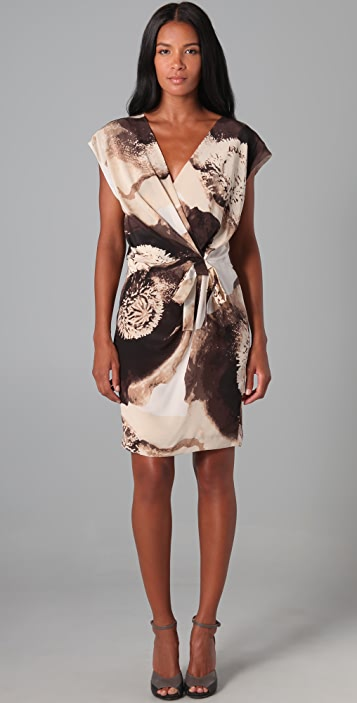 Robert Rodriguez Clematis Print Dress