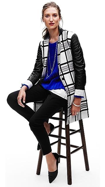 Robert Rodriguez Open Grid Easy Pullover