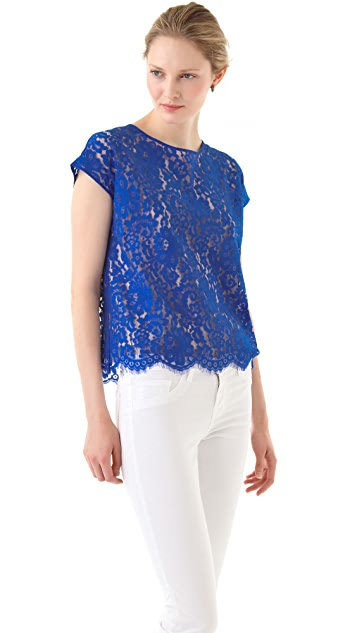 46084f7409f Robert Rodriguez Must Have Lace Top
