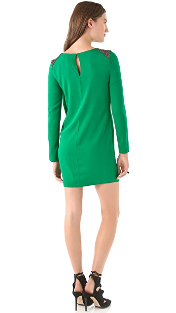 Robert Rodriguez Sheath Dress with Folds