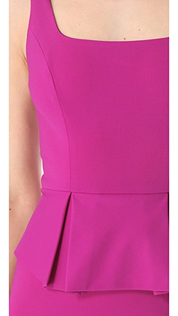 Robert Rodriguez Peplum Pencil Dress