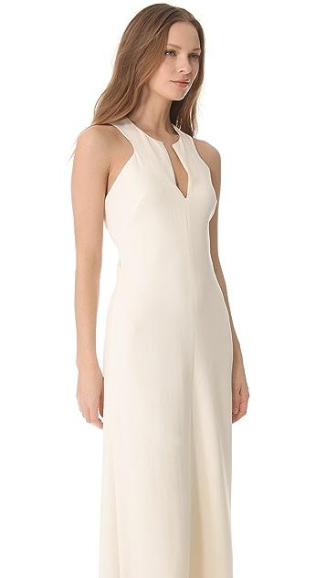 Robert Rodriguez Cutout Gown