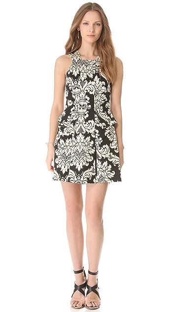 Robert Rodriguez Baroque Print Dress