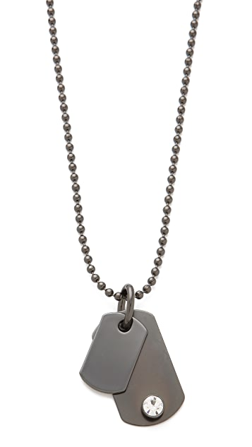 Robert Rodriguez Dog Tag Necklace