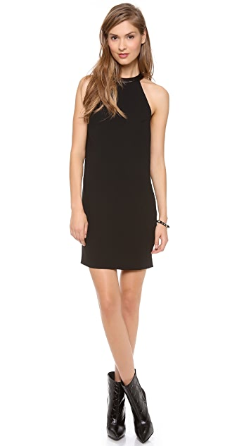 Robert Rodriguez Combo Draped Dress