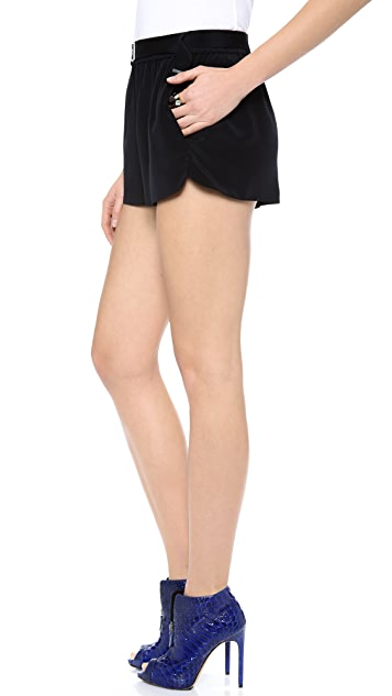 Robert Rodriguez Silk Tie Shorts