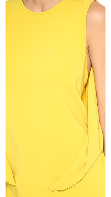Robert Rodriguez Envelope Fold Dress