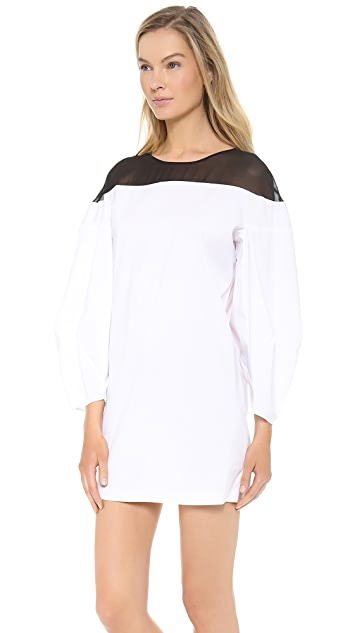 Robert Rodriguez Illusion Shift Dress