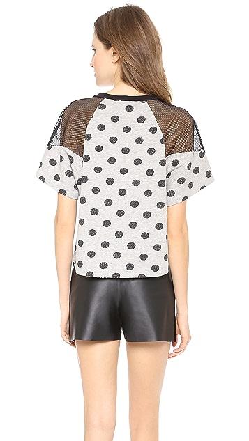 Robert Rodriguez Batik Dot Sweatshirt