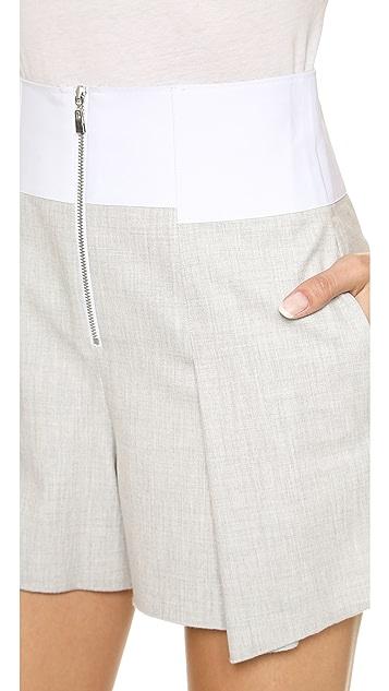 Robert Rodriguez Bonded Tuxedo Shorts