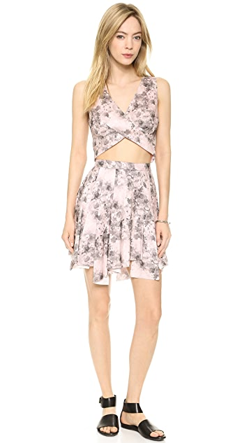 Robert Rodriguez Floral Crop Top