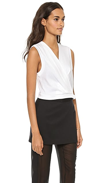 Robert Rodriguez Draped Belt Top