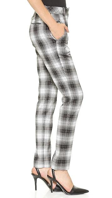 Robert Rodriguez Tartan Cigarette Pants