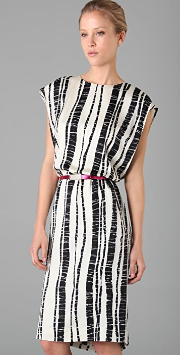 Rachel Roy Print Column Dress