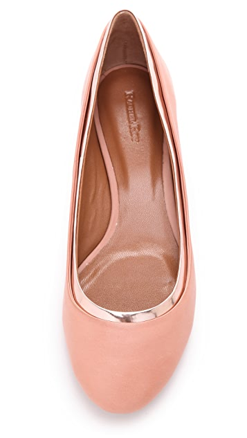 Rachel Roy Bridgitte Double Layer Flats