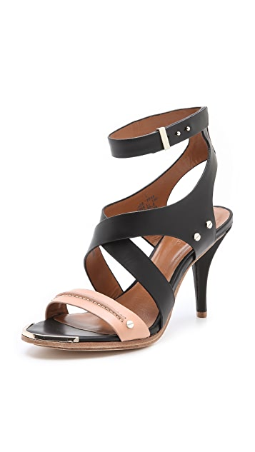Rachel Roy Racquel Low Heel Sandals