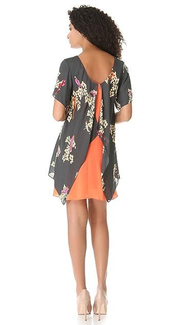 Rachel Roy Double Layer Dress