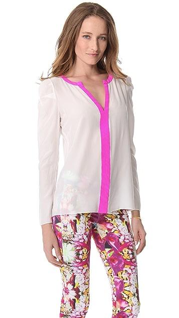 Rachel Roy Puff Sleeve Blouse