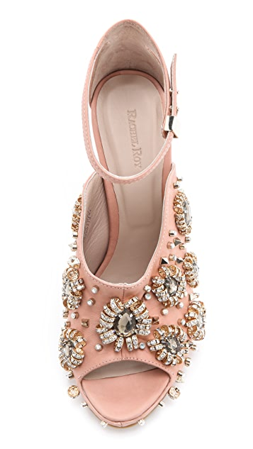 Rachel Roy Dal Embellished Sandals