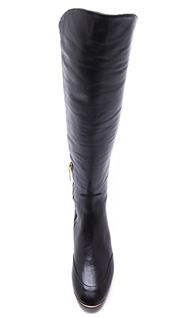 Rachel Roy Gavin Flat Boots