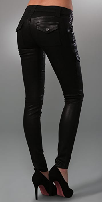 Rich & Skinny Super Stretch Cargo Leggings