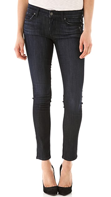 Rich & Skinny Ankle Rolled Jeans