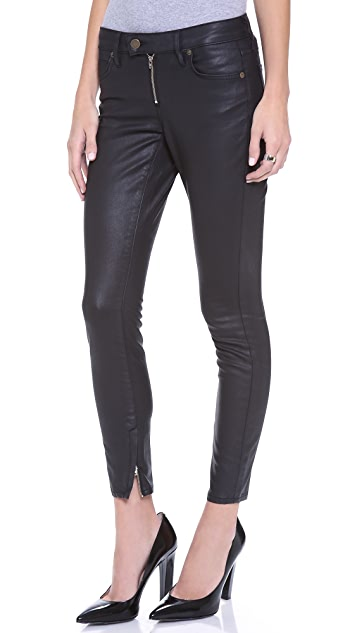 Rich & Skinny The Ankle Zip Jeans