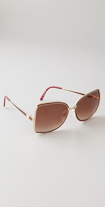 Retrosun Vintage Gucci Butterfly Sunglasses