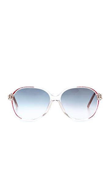 Retrosun Vintage Gucci Oversized Sunglasses