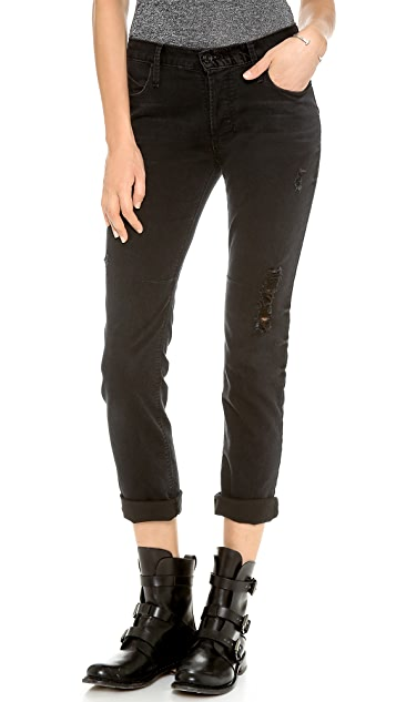 RtA Destroyed Boyfriend Skinny Jeans